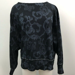 Rag & Bone Navy Blue Long Sleeve Sweater Sz- Med